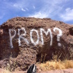 Park Rangers Searching For Jerk Who Defaced Rock With 'Promposal' Message