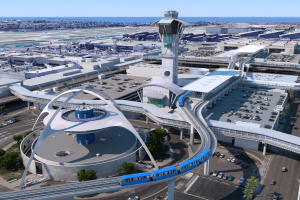 The LAX People Mover: A First-Look At The (Very Cool) Visuals