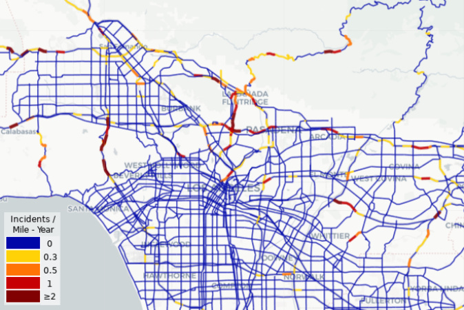 SoCal's Roadkill Danger Zones -- Where You're More Likely To Hit An Animal