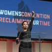 Rose McGowan Takes Stage At Women's Convention To Call Out Sexual Assault