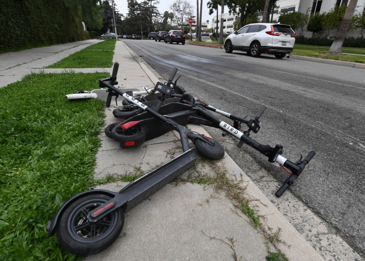 Scooters, Scooters Everywhere  Here's How LA's Grand