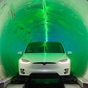 Elon Musk Gave Us A Test Ride Of His Futuristic Travel Tunnel In Hawthorne