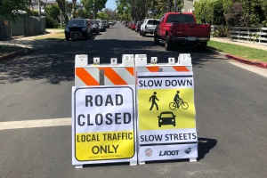 LA's 'Slow Streets' Will Limit Traffic To Promote Social Distancing. All Neighborhoods Can Apply