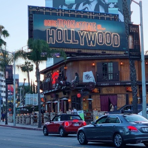 'Once Upon A Time In... Hollywood' Takes Over The Sunset Strip