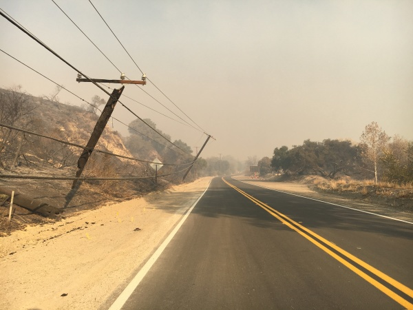 Southern California Edison Not Accepting Full Blame For Thomas Fire
