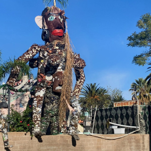 Tio's Tacos In Riverside Hides A Vast Outdoor Sculpture Museum