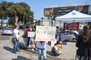 Weekend Rally In South LA Held To Raise Awareness of Domestic Violence in BIPOC Communities
