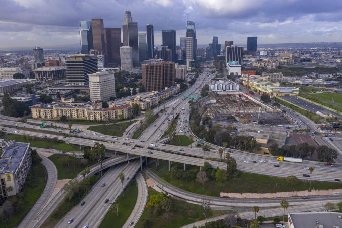 Potholes And Road Damage: How The Census Impacts LA Freeway Commutes
