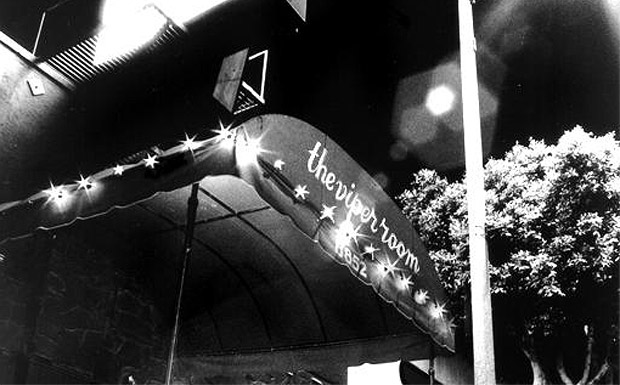 the old school awning of the viper room