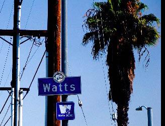 Watts City Sign