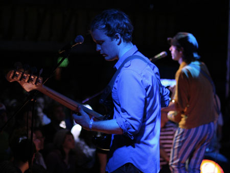 Clap Your Hands Say yeah at the Troubadour