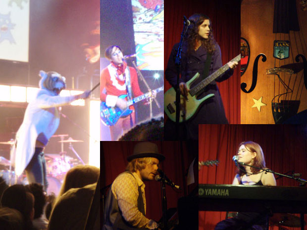 Four concerts 11/8/07 in Los Angeles