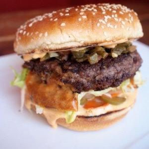 Would You Eat This Marc Maron Burger From The Oinkster?