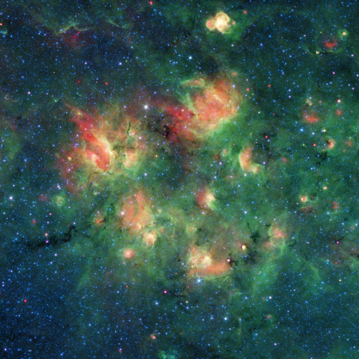 NASA's Spitzer Telescope Revealed Colors Unseeable By The Human Eye. It Retires Next Week: LAist