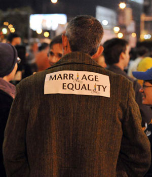 Prop 8 protest scheduled for January about DOMA
