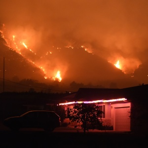 Houses Built To Resist Wildfires Are Burning In Wildfires -- And Being Rebuilt In The Same Way