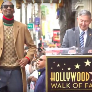 Win And Juice: Snoop Gets A Star On The Hollywood Walk Of Fame