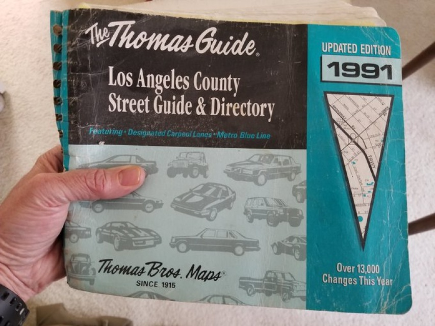 Thomas Guide Maps Thomas Guide Maps: The Rise And Fall of LA's Directional Holy