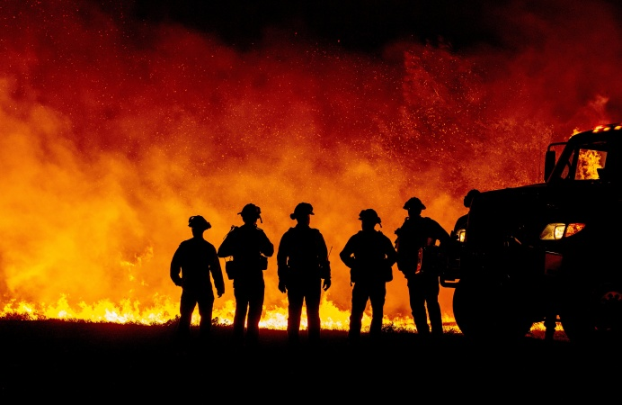 Many Firefighters Are Still Declining The Vaccine As A Brutal Fire Season Looms