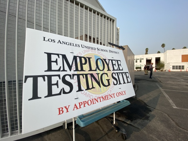 LAUSD's COVID-19 Testing Sites Have Turned Away Symptomatic People -- But That Could Change Next Week