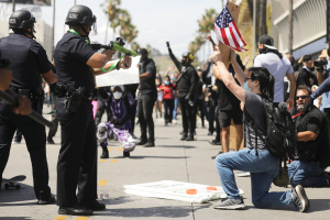 Some LAPD Officers Take Aim at Chief Moore Over Black Lives Matter Protests