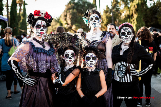 Where To Celebrate Día De Los Muertos In Los Angeles
