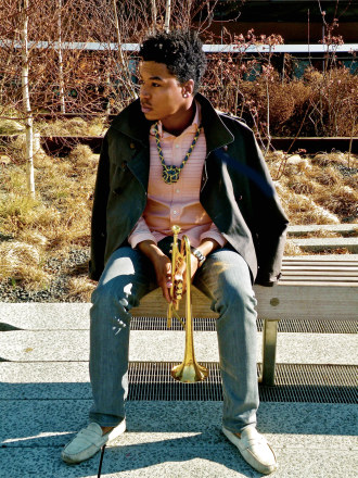 Christian Scott--Trumpeter