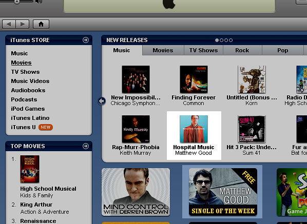 matt good in the itunes store is all you need