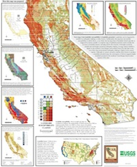 CA Geological Survey Releases Landslide Susceptibility Map: LAist on