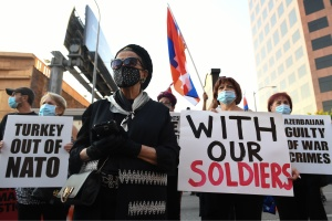 What You Need To Know About Recent Protests By Armenian Americans Around LA