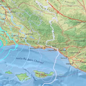 4.3 Magnitude Earthquake Strikes Off Coast Of Lompoc In Santa Barbara County