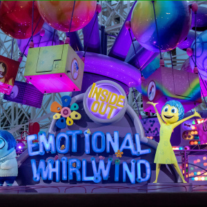 Disney's New Inside Out Ride Is An Emotional Rollercoaster -- But That's Not Why It Looks Familiar