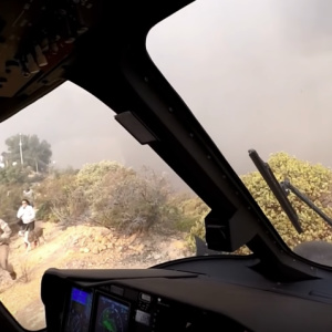 Watch LAFD Pilots Rescue 3 People And 2 Dogs As The Woolsey Fire Closes In