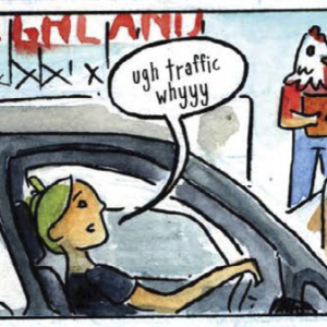 Take A Route 66 Road Trip That Starts In Santa Monica And Ends In This Graphic Novel
