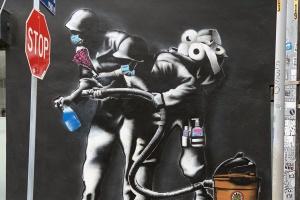 How LA's Street Artists Are Responding To Coronavirus