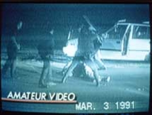 This 1991 amateur video captured the beating of Rodney King
