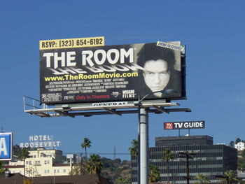 The billboard that will never die: The Room