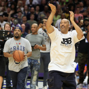 Video: LaVar Ball, Who Says He Could Have Beaten Michael Jordan, Loses To Ice Cube In 4-Point Contest