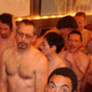 Kinky gay boys pooper hammering