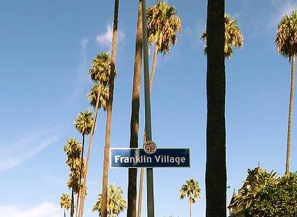 Franklin Village sign