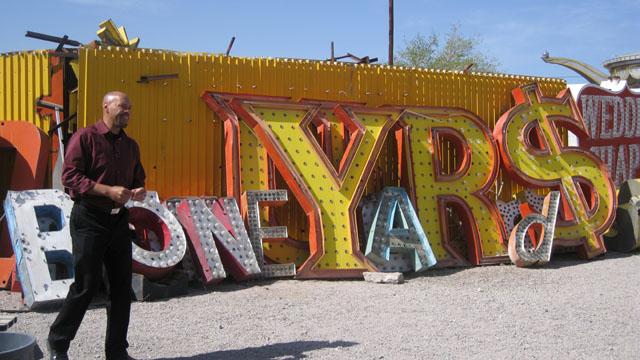 SoCal Connected Correspondent John Ridley in Las Vegas' Neon Boneyard