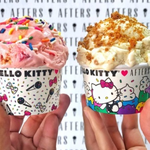 Official Hello Kitty Ice Cream Flavors Headed To SoCal This Summer