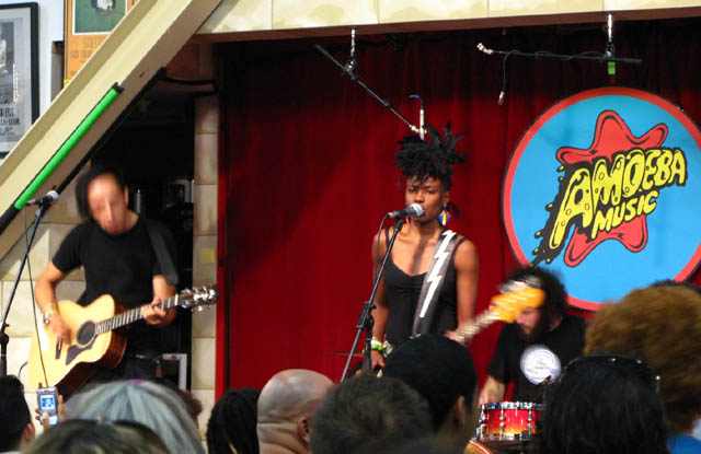 The Noisettes at Amoeba