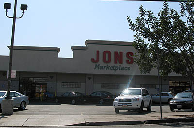 this is the Jons on Santa Monica Blvd.