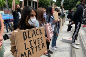 Activists Call For A Ban on LAPD 'Less-than-Lethal' Weapons At Protests