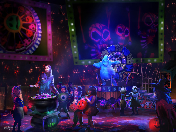California Adventure Wants You To Forget Mickey, Embrace Oogie Boogie Bash's 'Nightmare' This Halloween: LAist