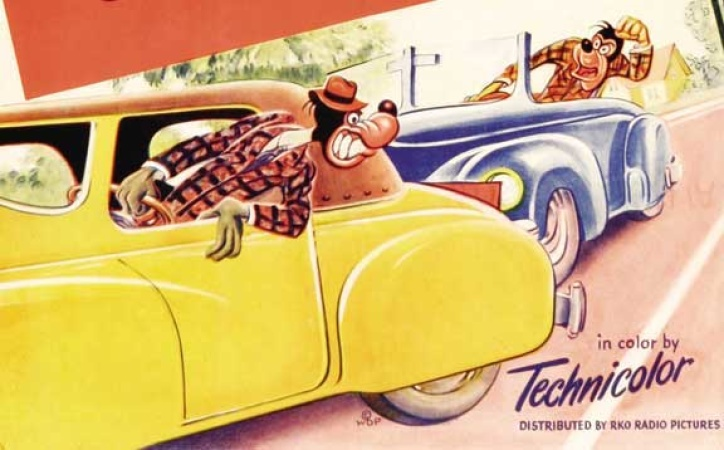 Disney's 1950 Short About Traffic Safety Could Pass For LA 2018