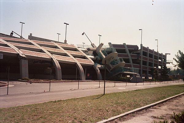 CSUN Parking Structure