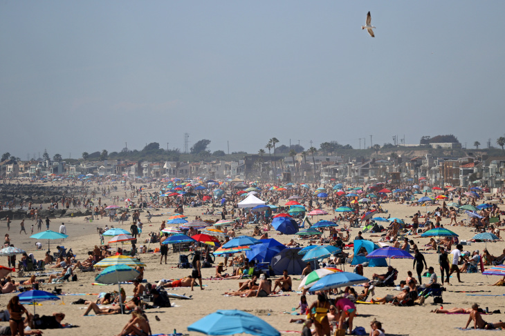 So Many People Went To Newport Beach