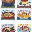 The U.S. Postal Service Pays Tribute To Latin Food With New Stamps